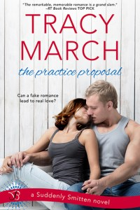 Baseball Romance Novels: The Practice Proposal by Tracy March