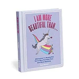 Self Care Books: I am More Beautiful Than... Affirmators