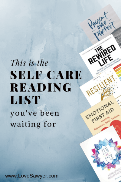 The Self Care Reading List you've been waiting for
