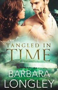 Romance featuring time travel: Tangeled in time by barbara longley