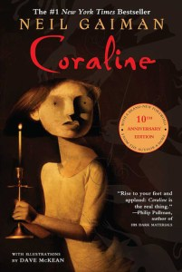 Scary Horror Novels: Coraline by Neil Gaiman