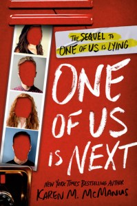 Most Anticipated releases of 2020: One of Us Is Next by Karen McManus