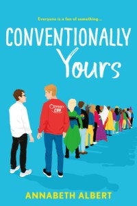 Hottest Gay Romance Summer 2020 Conventionally Yours by Annabeth Albert