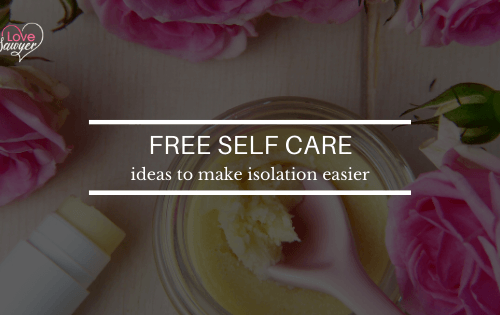 Free Self Care Ideas