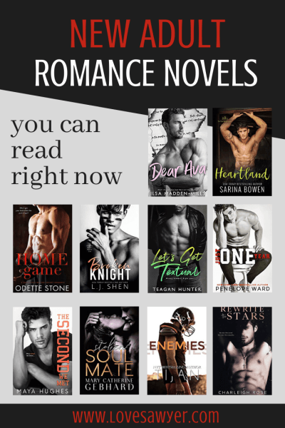 New adult romance novels you have to read