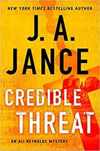 Hottest thrillers releasing in June 2020 Credible Threat J.A. Jance