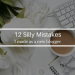 12 Mistakes I made as a new book blogger