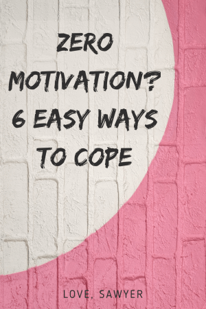 Lacking motivation? what to do on zero motivation days.