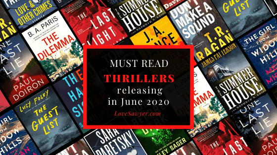 Most anticipated thrillers of June 2020