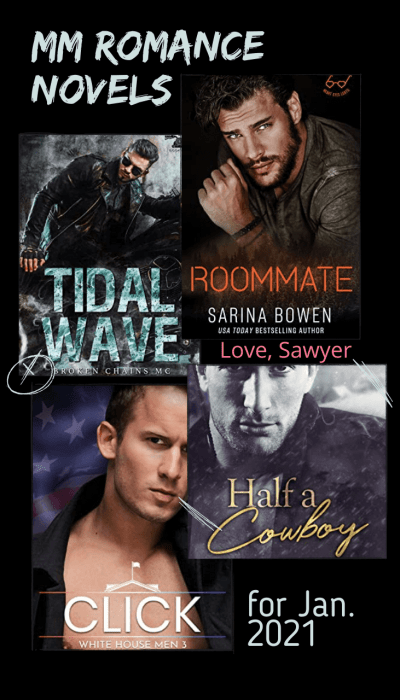 The hottest gay romance novels of January 2021