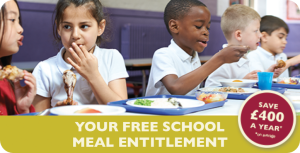 School meals are free for all in Reception – Year 2
