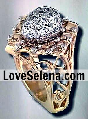 Selena Wedding Ring : selena, wedding, Selena's