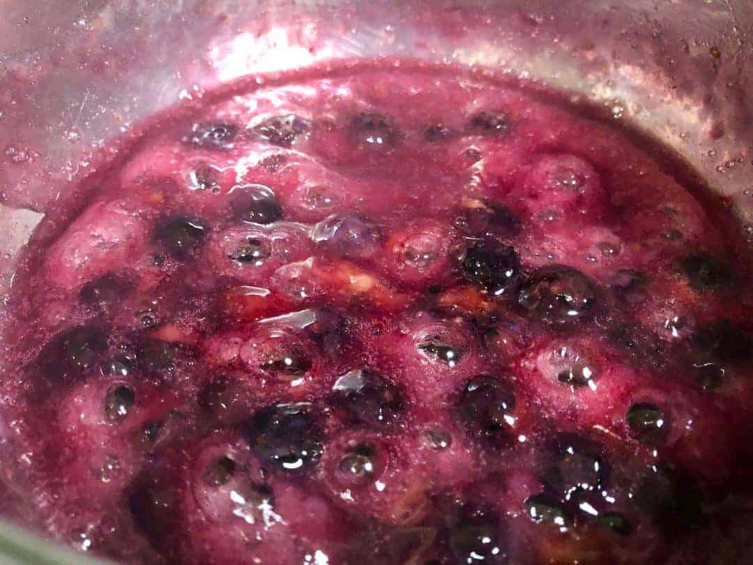 Keto Blueberry Sauce