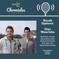 Stan Wawrinka & Novak Djokovic revisit IG covid interview podcast