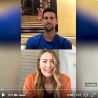 Novak Djokovic & Maria Sharapova IG Interview + Roger Federer Birthday Giveaway Federesque Coffee Book