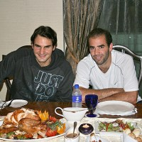 Happy Thanksgiving from Roger Federer, Pete Sampras and all of us at LoveSetMatch