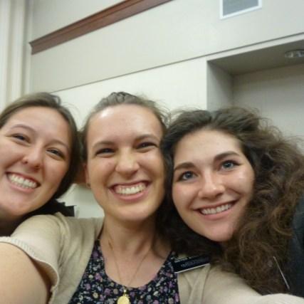 Sister Sherwood, Me and Sister Kastner!!