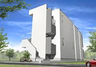 201504152230333bc 1 - 5棟目購入の新築アパートパース画像をお披露目します。