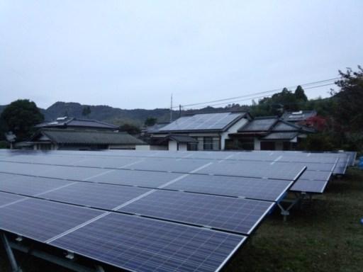 DSC 0005 - 熊本野立50KW太陽光発電所完成