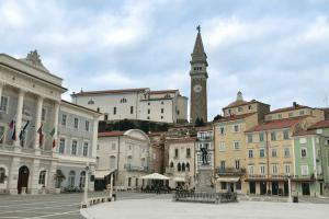 Пиран Словения центральная площадь