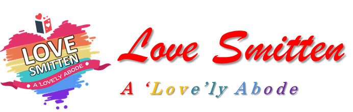 logo and backcover of love smitten an e-magazine