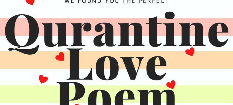 quarantine love poem by lisa olstein