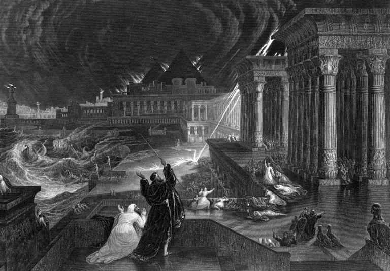 10 plagues of Egypt- independence in the Bible