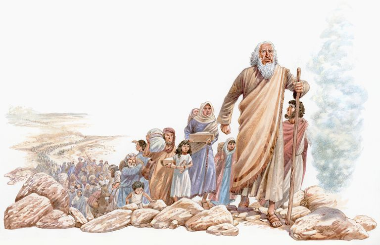 Bible story of Moses