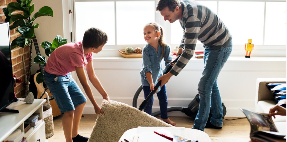 how to divide household chores