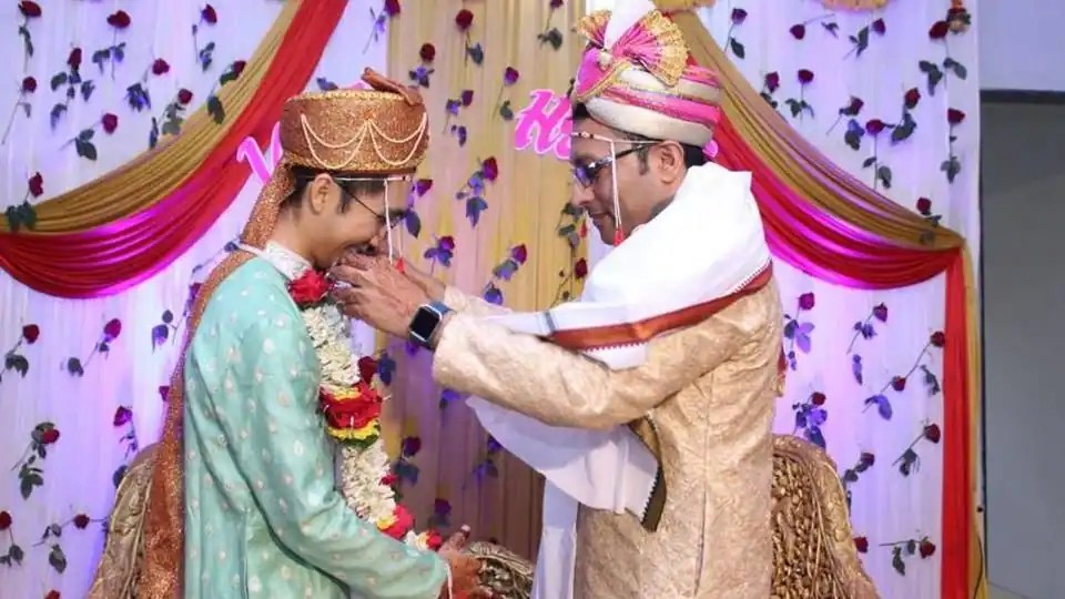 India's first gay marriage