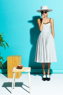 Miranda Makaroff for Lydia Delgado SS 2014 Collection Calypso