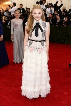 Chloe Grace Moretz de Chanel Couture