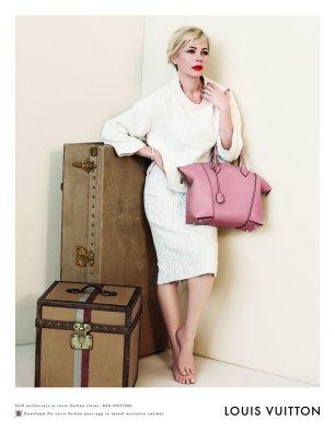 Louis Vuitton SS 2014 con Michelle Williams