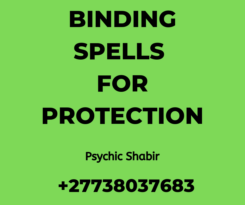 Binding Spells For Protection