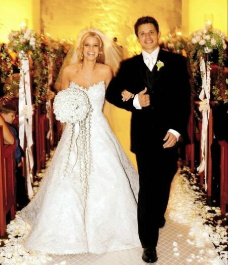 Our Thoughts Jessica Simpsons Wedding Dress  lovesthat