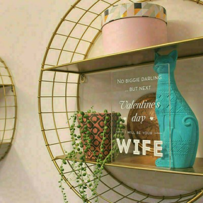 """Acrylic Valentine's Day Card """"I Will Be Your Wife"""""""