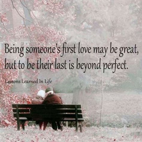 being some one first love