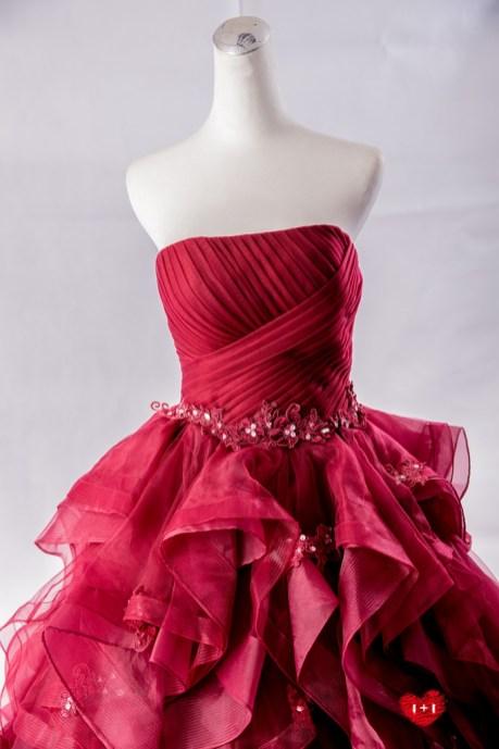 手工婚紗推薦:溫莎女爵晚禮服