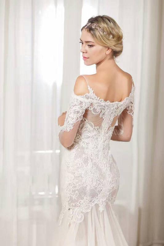Angeline手工婚紗