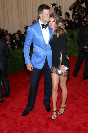 'PUNK: Chaos to Couture' Costume Institute Gala at The Metropolitan Museum of Art Featuring: Tom Brady,Gisele Bundchen Where: New York City, New York, United States When: 07 May 2013 Credit: Andres Otero/WENN.com