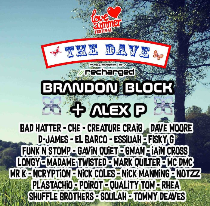 The Daves flyer - FINAL HALF