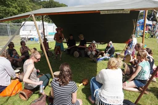 Love Summer Festival - Workshops - Drumming 3