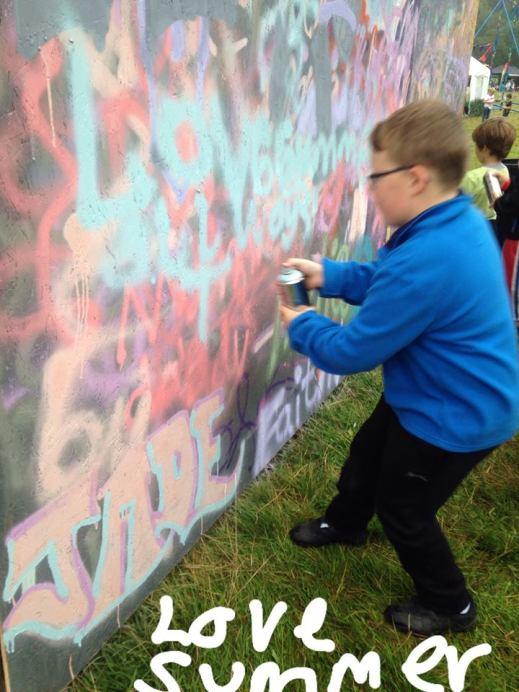 Love Summer Festivals - Workshops - Graffiti 4