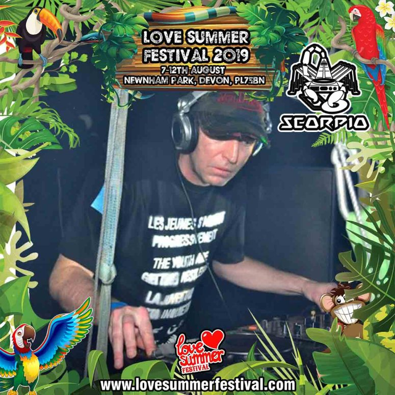 Love Summer Festival | Devon | Family Fun | Glamping | Festival | Southwest | Techno | Plymouth | DJ Scorpio | PL75BN