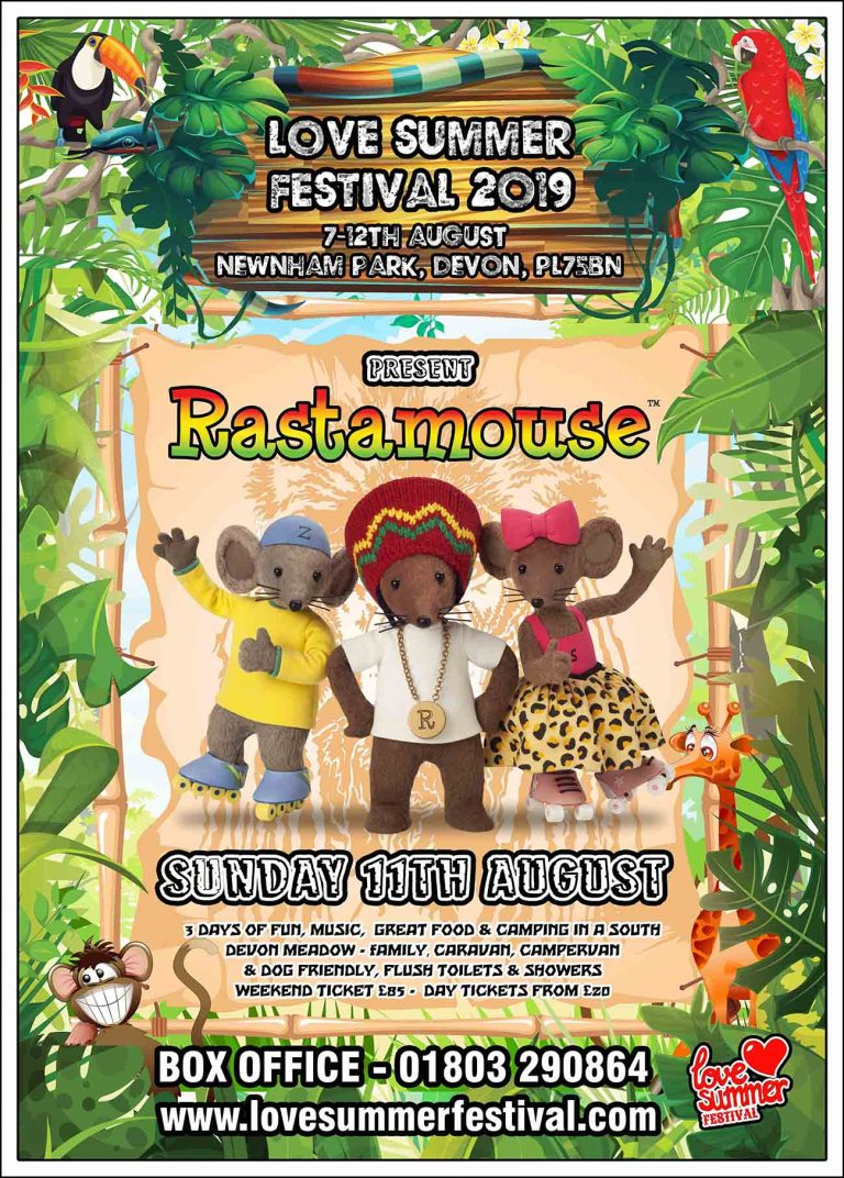Love Summer Festival | Devon | Family Fun | Glamping | Festival | Southwest | Rastamouse | Big Top | Family Fun | PL75BN