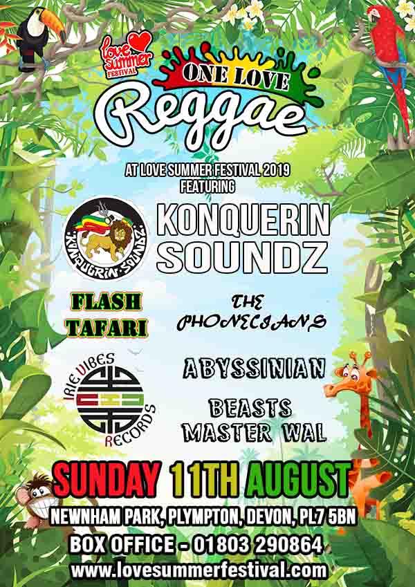 Love Summer Festival | Reggae Sunday Flyer