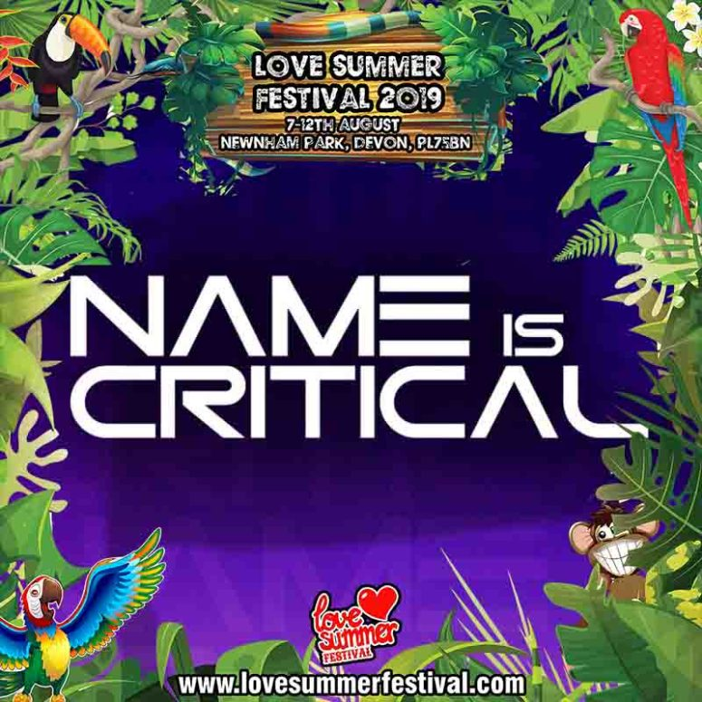 Love Summer Festival | Name is Critical Tile