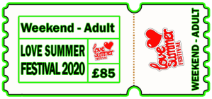 Love Summer Festival | Ticket | Adult | Weekend