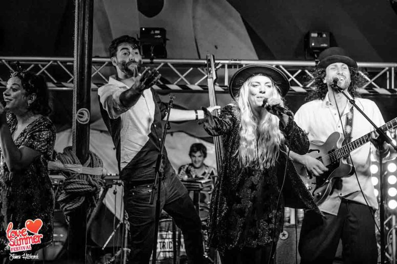 Electric Swing Circus at Love Summer Festival 2019 in Plymouth Devon