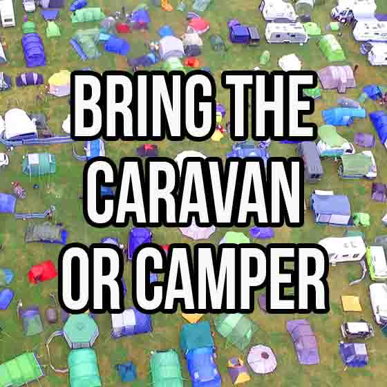 Festival | Campervan Caravan Ticket | Love Summer Festival | Book Here